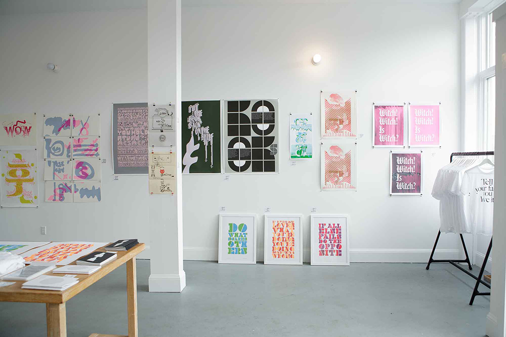 Letterfirm exhibition curated by Ian Lynam